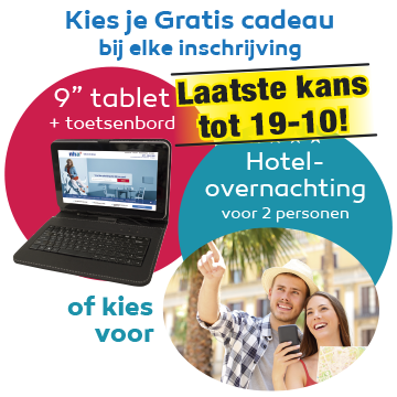 Tablet incl. toetsenbord